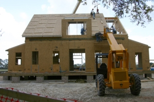 Lowcountry Home under construction