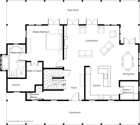 Floor Plans Lowcountry Home Built With Sips